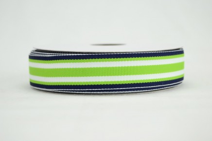- Navy Lime Surfboard